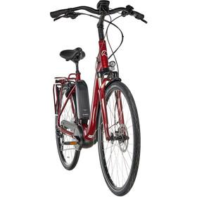 Kalkhoff Agattu 3.B Dynamic E-citybike Comfort 500Wh rød